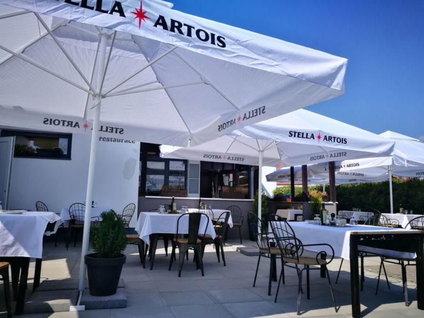 Restaurace La Stella zahrádka
